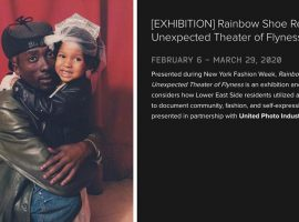 Rainbow Shoe Repair: An Unexpected Theater of Flyness is an exhibition and event series that considers how Lower East Side residents utilized a local photo studio to document community, fashion, and self-expression.