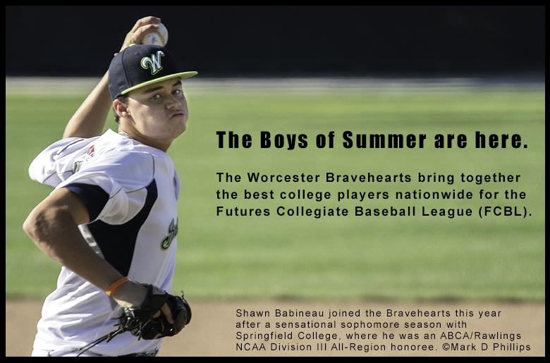 The best players in college baseball hone their skills during the summer months in the Futures Collegiate Baseball League (FCBL).