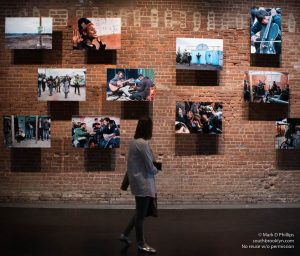 St. Ann's Warehouse officially opens its panoramic waterfront Studio on May 3, 2017, with Sarah Hickson's Sounds Unseen: A Photographic Memoir of the Calais Sessions, presented in association with United Photo Industries. ©Mark D Phillips
