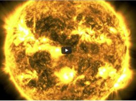 As of June 2020, NASA's Solar Dynamics Observatory — SDO — has now been watching the Sun non-stop for over a full decade. Compiling one photo every hour, the movie condenses a decade of the Sun into 61 minutes.