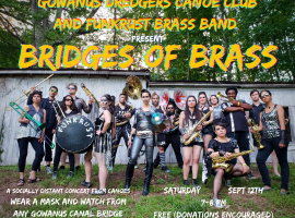 The Gowanus Dredgers Canoe Club will host six distanced, outdoor events along and on Brooklyn's Gowanus Canal on Saturday, September 12th.