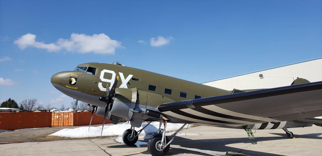 C-47-DL 41-18401 – 101st Airborne Tribute – N150D