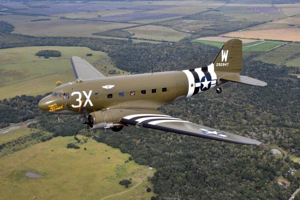 C-47A-15-DK 42-92847 – That's All, Brother – N47TB