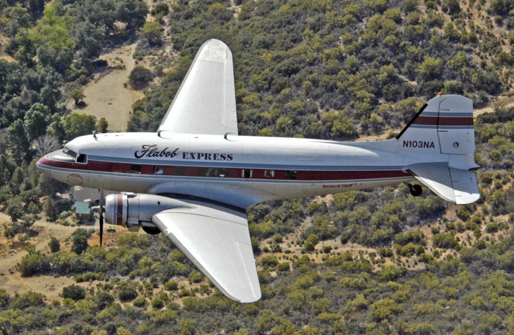 C-47A-30-DL 42-23669/FD879 – Flabob Express – N103NA