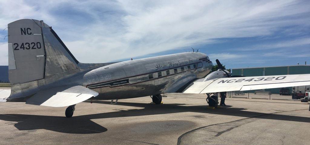 C-47A-90-DL 43-15731 – Miss Montana – N24320