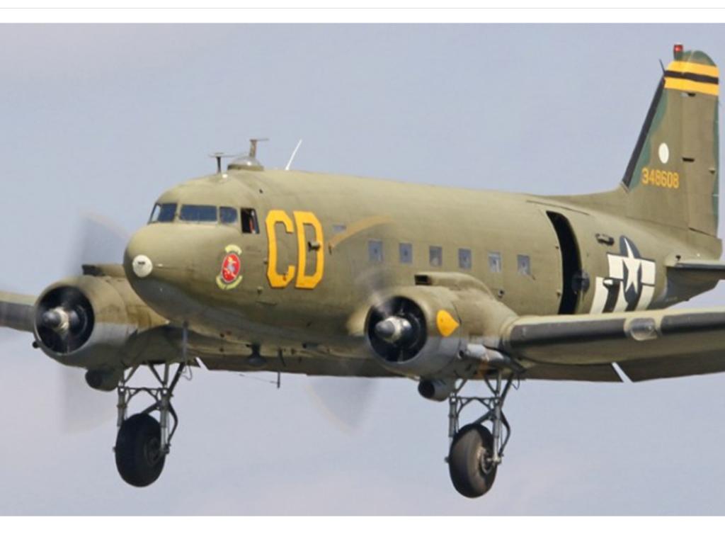 C-47B-5-DK 43-48608 – Betsy's Biscuit Bomber – N47SJ