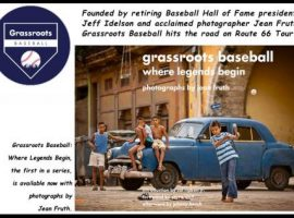 Jean Fruth, one of today's pre-eminent baseball photographers, and retiring National Baseball Hall of Fame and Museum president, Jeff Idelson, announced the launch of Grassroots Baseball - a program dedicated to promoting and celebrating the amateur game around the globe, with a focus on growing interest and participation at the youngest levels.