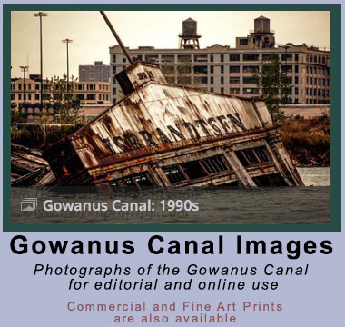 Gowanus Canal Stock images for editorial downloads and commercial licensing. ©Mark D Phillips