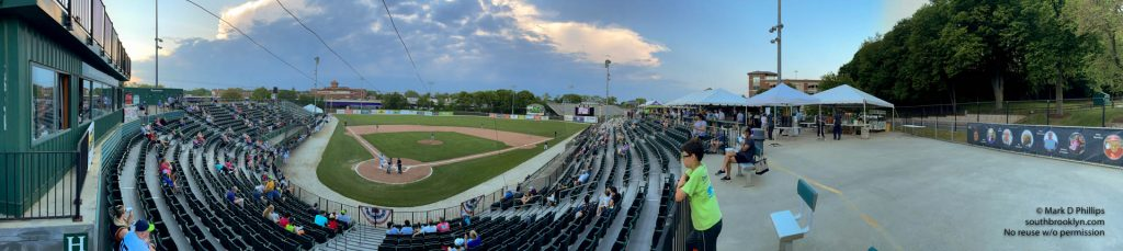 Worcester Bravehearts opening night on May 26, 2021. Photo by Mark D Phillips